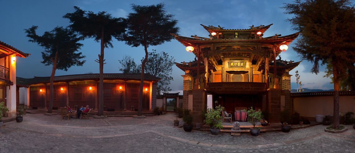 Old Theatre Inn is first in elegance and comfort among Shaxi hotels, Yunnan China