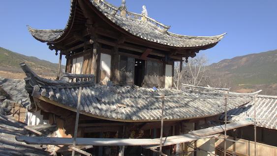 Jade roof complete