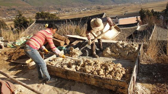 mortar making