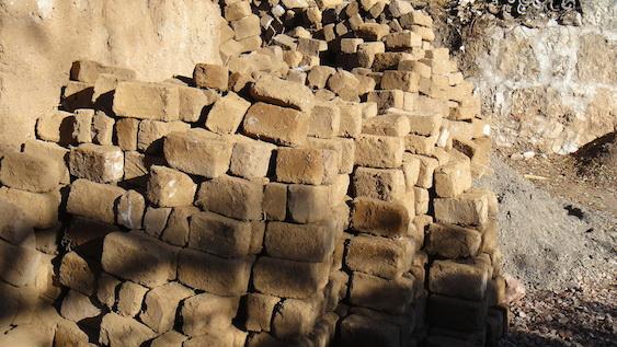 Mud Brick cache