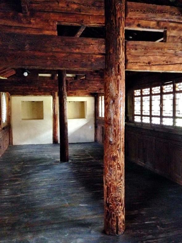 East classroom complete - Shaxi temple restoration