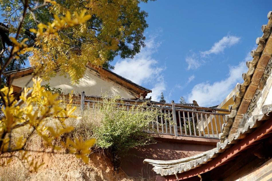 Autumn at the Pear Orchard Temple - Shaxi Yunnan China