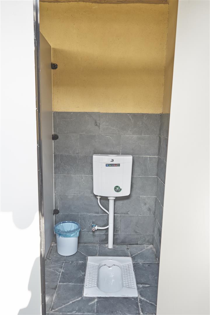 New toilet at restored Shaxi Yunnan temple