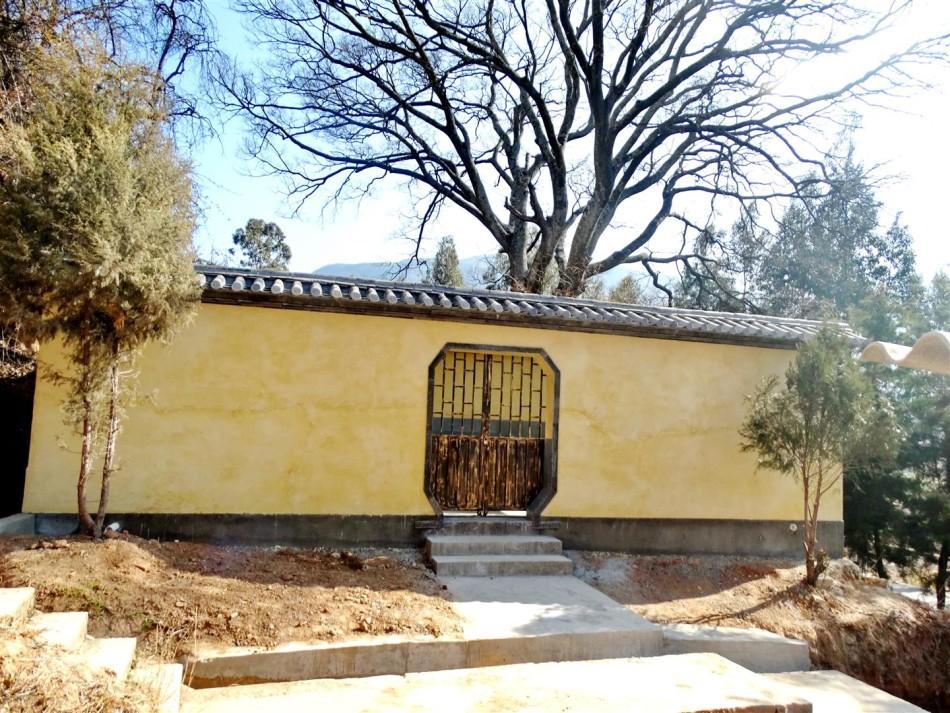 Shaxi Pear Orchard Temple rebuilt toilets - Shaxi Yunnan travel
