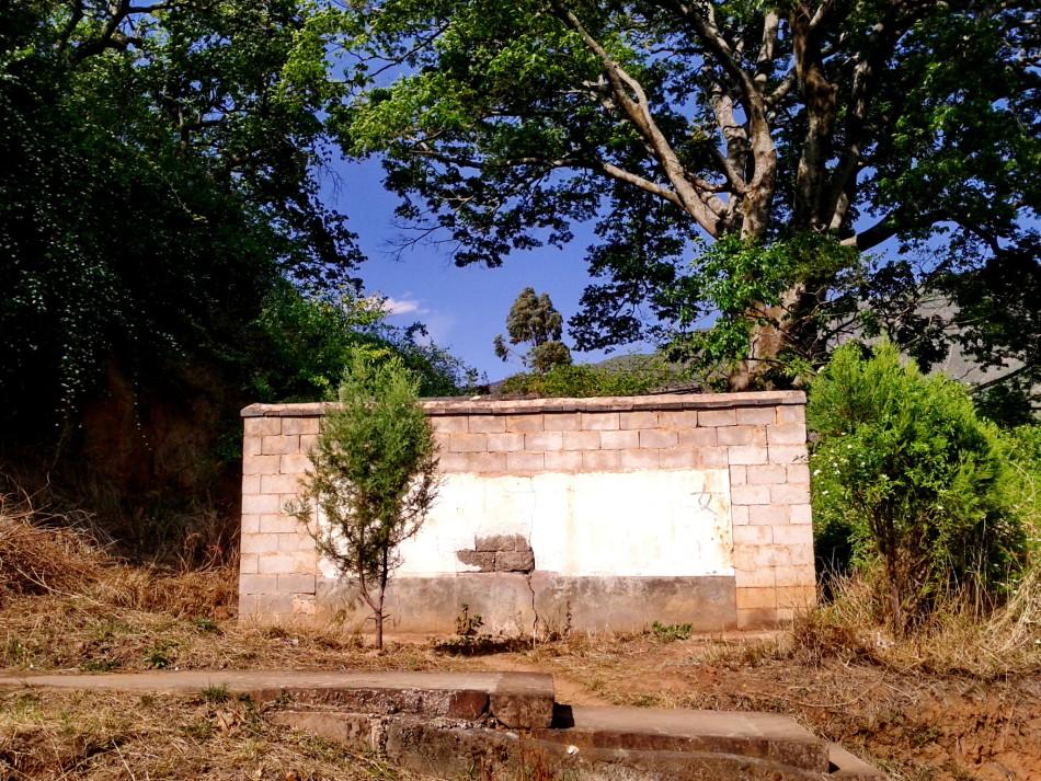 Shaxi temple toilets before renovation - Shaxi Yunnan travel