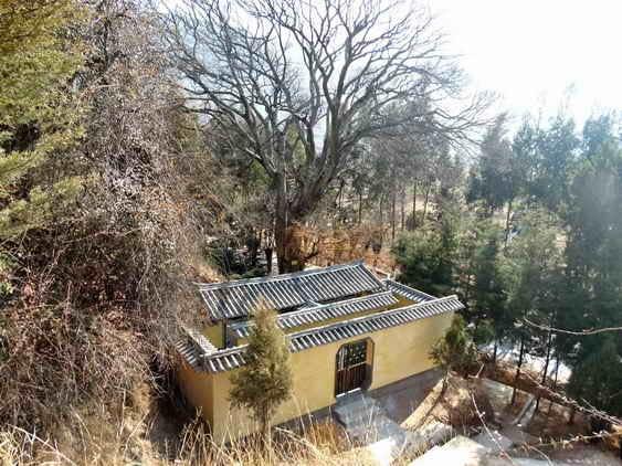 New toilets | Shaxi China Pear Orchard Temple restoration Dali Yunnan